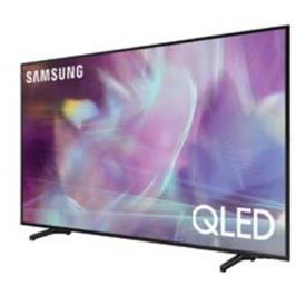 טלוויזיה 75 עיצוב דק ויוקרתי, בגימור שחור מתכתי QLED 4K תוצרת SAMSUNG דגם 75Q60A