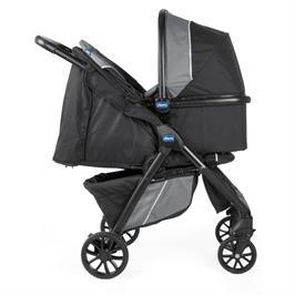 עגלה משולבת מבית Chicco דגם Kwik One- לא כולל סל שכיבה