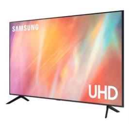 טלוויזיה 55 דקה יוקרתית, 4K ללא מסגרת גימור טיטניום יוקרתי תוצרת SAMSUNG דגם 55AU7100
