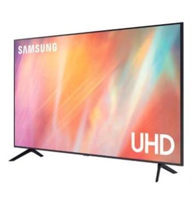 טלוויזיה 65 דקה יוקרתית, 4K ללא מסגרת גימור טיטניום יוקרתי תוצרת SAMSUNG דגם 65AU7100