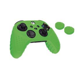 כיסוי סיליקון לבקר מבית SPARKFOX בצבע ירוק