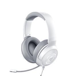 אוזניות גיימינג מבית RAZER דגם KRAKEN X MERCURY בצבע לבן