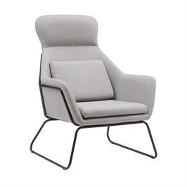 כורסא מודרנית מעוצבת עם רגלי ברזל HOME DECOR דגם ליברפול