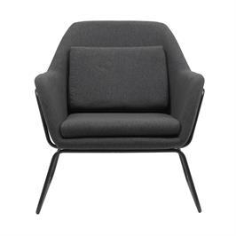 כורסא מעוצבת עם רגלי ברזל HOME DECOR דגם ברייטון