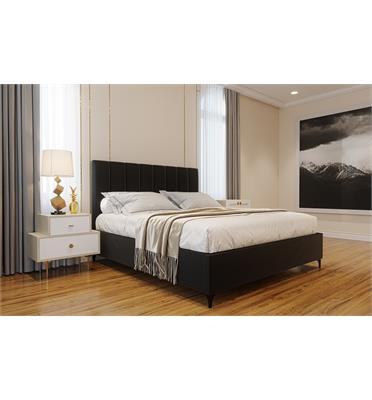 מיטה זוגית מפוארת מרופדת בד קטיפה מבית פנדה סטייל דגם אליסיה