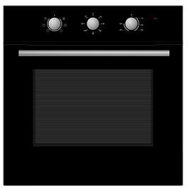 תנור אפייה בנוי מכני 6 תוכניות 65 ליטר תוצרת Midea דגם 65CME10004