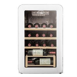 מקרר יין בסגנון רטרו ל 16 בקבוקים עם מדחס איכותי תוצרת LANDERS דגם LA70RW
