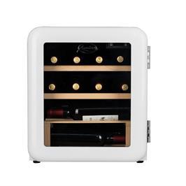 מקרר יין רטרו 12 בקבוקים עם מדחס תוצרת LANDERS דגם LA46RW