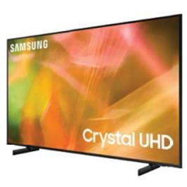 """טלוויזיה 75 עיצוב דק ויוקרתי 2.5 ס""""מ בגימור שחור 4K תוצרת SAMSUNG דגם 75AU8000"""