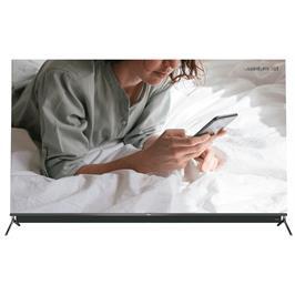 טלוויזיה 75 QLED Android TV 4K עם חווי שלט קולי תוצרת TCL דגם 75C815