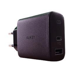 מטען מהיר מיני USB+PD 30W מבית AUKEY דגם PA-F3