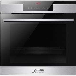 תנור בנוי פירוליטי 77 ליטר מסדרת CHEF EDITION סדרת הפרמיום החדשה תוצרת SAUTER דגם CUISINE 7600IX