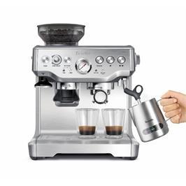 מכונת אספרסו ומטחנת קפה Barista ExpressTM בגימור נירוסטה BREVILLE דגם BES875BSS