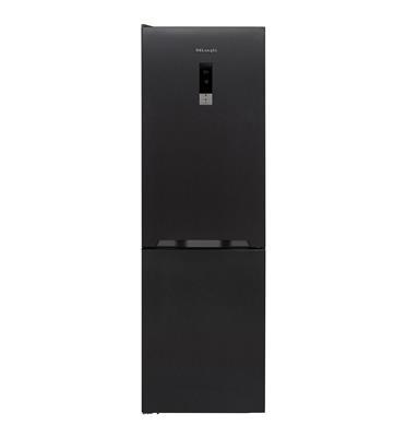 מקרר 2 דלתות פריזר תחתון 327 ליטר ברוטו NO FROST תוצרת Delonghi דגם DLR393XL