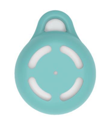 מחזיק מפתחות שמתחבר לעד 3 כריות Tippy pad מבית Tippy דגם Tippy Fi