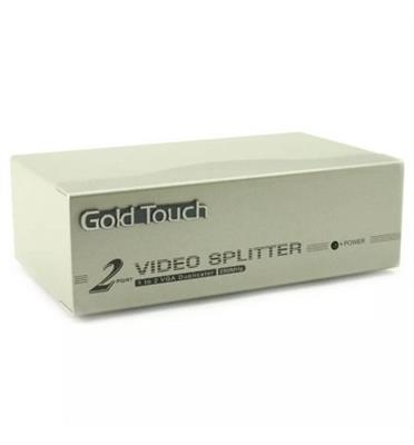 מפצל VGA ל 2 מסכים- איכותי כולל ספק כוח - VGA SPLITTER מבית MATRIX דגם VGA-2-SPL