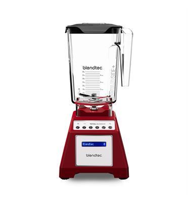 בלנדר דיגיטלי מציג את כל הכוח והתכונות תוצרת Blendtec דגם Total Blender Classic אדום