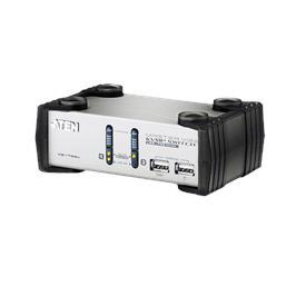 קופסת מיתוג ATEN 2-Port PS/2-USB VGA/Audio KVMP™ Switch דגם CS1732A