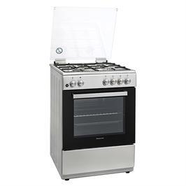 """תנור אפיה 60 ס""""מ על גז צבע נירוסטה מבית Normande דגם ND-7060"""