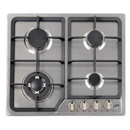כיריים 4 להבות גז בגימור נירוסטה Chef דגם GB6049