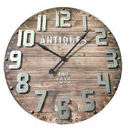 שעון קיר ענק בעיצוב בית מלאכה וינטג' מבית Tudo Design