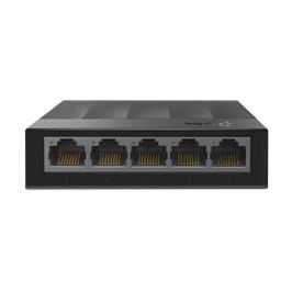 מתג שולחני בצבע שחור בעל 5 יציאות במהירות 10/100/1000 מבית TP-Link דגם LS1005G