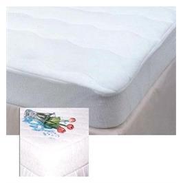 מגן למזרן יחיד -ריפודית מפנקת לשמירה על המזרן