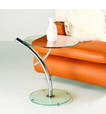 שולחן קפה מזכוכית מבית GAROX דגם PALM