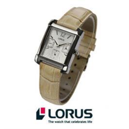 שעון LORUS אופנתי לנשים עם רצועת עור דגם : 39AX8