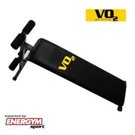 ספסל בטן איכותי מתכוונן עם שיפוע שלילי מבית VO2 דגם F1000