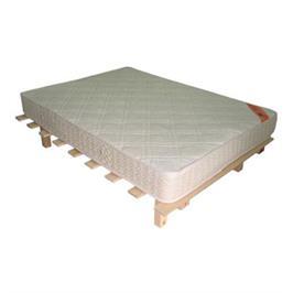 משטח שינה זוגי מעץ אורן + מזרן שינה אורטופדי מבית Or-Design