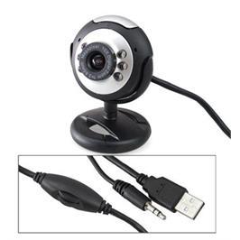 מצלמת אינטרנט 10MP כולל תאורה מבית MATRIX