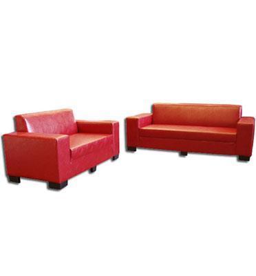 מערכת ישיבה 2+3 מפנקת במיוחד מרופדת בדמוי עור מבית Or-Design דגם דקו