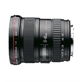 עדשה קנון זום למצלמת רפלקס SLR מקצועית EF17-40mm f/4L USM - אחריות יבואן רשמי!