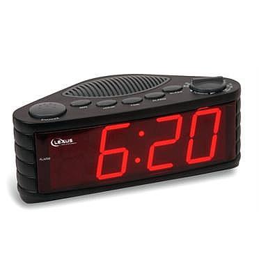 רדיו שעון מעורר עם תצוגה גדולה במיוחד תוצרת LEXUS דגם CK5526
