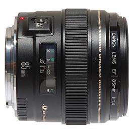 עדשה תוצרת CANON דגם Canon EF 85mm f/1.8 USM - אחריות יבואן רשמי!