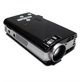 מקרן זעיר LCD נייד למצגות וסרטים עם זיכרון 4GB עם עוצמת הארה של 50LUMENS