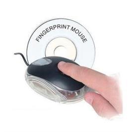 עכבר עם זיהוי בתביעת אצבע לאבטחה מירבית מבית GRANDTEC