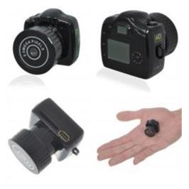 מצלמת וידאו זעירה לצילום ומעקב עם מיקרופון עד 16G