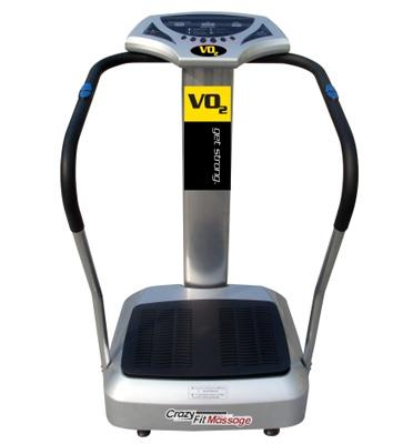 מכשיר כושר מסג' מקצועי Crazy fit massage קרייזי פיט VO2 דגם KF100