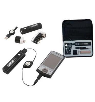 פנס לדים משולב במטען USB לטלפונים, מצלמות והתקנים שונים
