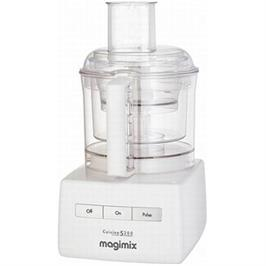 מעבד מזון מקצועי מתוצרת MAGIMIX דגם CS-4200WB לבן + משקל מטבח של MAGIMIX מתנה!