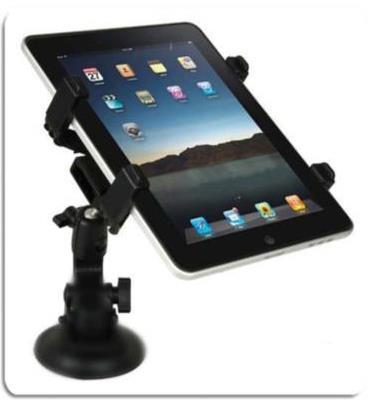 תושבת לרכב למכשירי iPad וטאבלטים עם זרוע מסתובבת- פיתרון מצוין לשימוש IPAD ברכב מבית MATRIX