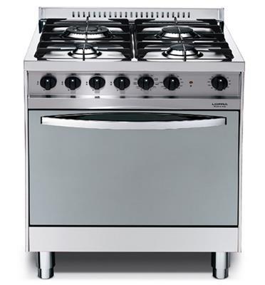 תנור משולב כיריים בעיצוב תעשייתי ואלגנטי תוצרת LOFRA דגם MS66MF/CI