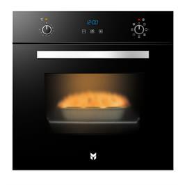 תנור אפיה בנוי בנפח ענק 67 ליטר ללא תפרים בצבע שחור תוצרת SOL דגם HO6700B