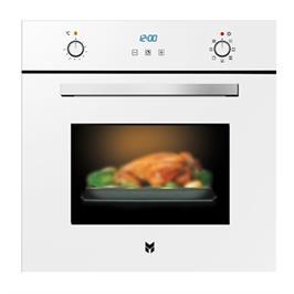 תנור אפיה בנוי בנפח ענק 67 ליטר ללא תפרים בצבע לבן תוצרת SOL דגם HO6700W