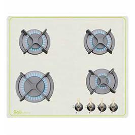 מערכת כיריים בעלת 4 מבערים זכוכית מבית sol דגם כפרי FQ6TG113