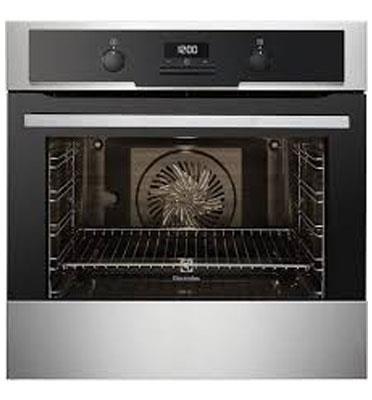 תנור אפיה בנוי 3D גימור נירוסטה 10 תכניות Electrolux דגם EOB5419AAX