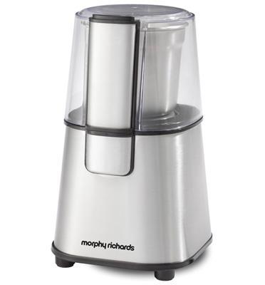 מטחנת קפה ותבלינים קומפקטית תוצרת MORPHY RICHARDS דגם 47671