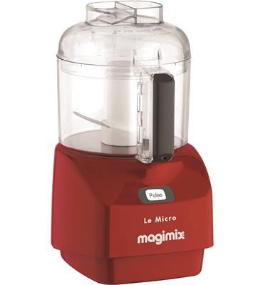 קוצץ מזון 290 וואט תוצרת MAGIMIX צרפת דגם LE-MICRO אדום + משקל מטבח של MAGIMIX מתנה!